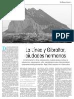 160309 La Verdad CG- La Línea y Gibraltar, Ciudades Hermanas p.3