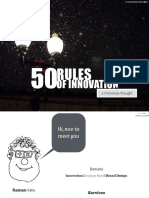 Rules of Innovation