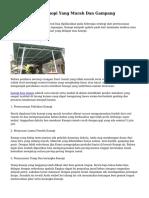 Cara Membuat Kanopi Yang Murah Dan Gampang