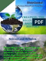 Creation the Beginning of Salvation History
