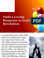 Faith Our Loving Response to God_s Revelation (1)