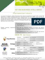 CBDMT - Market And Business Intelligence - Pharmaceutical Industry