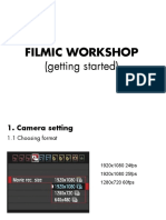 Filmic workshop PPT