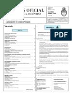 Boletín Oficial - 2016-01-08 - 1º Sección