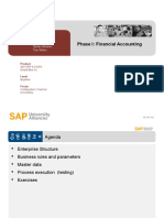 Configuration Phase I - Financial Accounting
