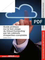 Guide Pratique Sur Le Bon Usage Du Cloud Computing Par Les Cabinets D_expertise-comptable - CSOEC