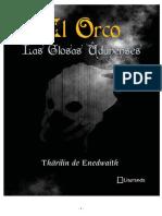 El Orco - Las Glosas Udunenses - Tharilin de Enedwaith