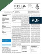Boletín Oficial - 2016-01-20 - 2º Sección