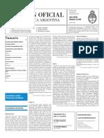 Boletín Oficial - 2016-01-27 - 2º Sección