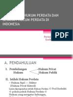 1. Pengertian Hukum Perdata Dan Sejarah Hukum Perdata Di Indonesia