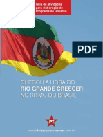Guia para atividades - Programa de Governo RS