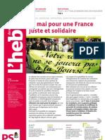 L'Hebdo des socialistes n°568
