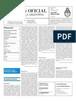 Boletín Oficial - 2016-02-01 - 2º Sección