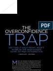 The Overconfidence Trap