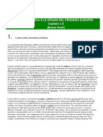 Riassunto di B. Snell - LA CULTURA GRECA E LE ORIGINI DEL PENSIERO EUROPEO (Cap. 1-3)