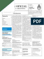 Boletín Oficial - 2016-01-29 - 3º Sección