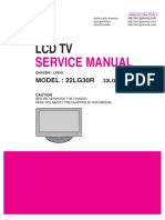 Service Manual LCD TV LG 22LG30R-LP81K-MFL42305403
