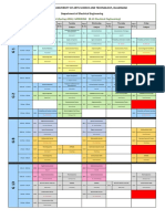 BS Time Table Spring 2016