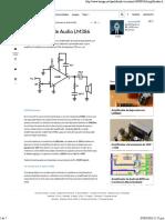 Amplificador de Audio LM386 - Taringa!