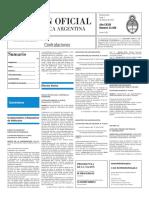 Boletín Oficial - 2016-02-01 - 3º Sección