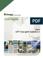 DCT-UG-001 3.11 Datgel CPT Tool User Guide