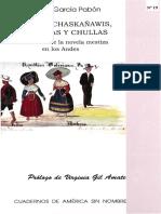 De Incas Chaskañawis Yanakunas y Chullas (Libro)