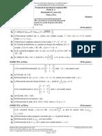 Subiecte Simulare Bac 2016  Matematica M Mate-Info XI