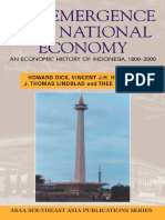 (Southeast Asia Publications Series) H. W Dick-The Emergence of a National Economy_ an Economic History of Indonesia, 1