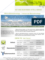 CBDMT - Market and Business Intelligence - White Biotechnology