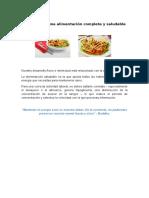 Secretos de Una Alimentación Completa y Saludable