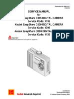 Kodak Easyshare c315 c530 Cd50