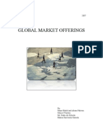 Global Market Offerings