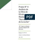 Análisis de la obra de EFRAÍN MAIDANA