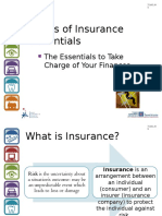 Types of Insurance Essentials PowerPoint