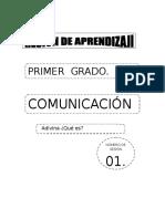 SESIONES COMUNICACIÓN PRIMERO - TERCER MOMENTO..doc