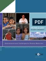 Banco Mundial 2010 Paraguay Estudio de Pobreza