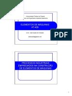 Processos de Fabricação -2