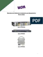 Procedimiento Estandar Para La Instalacion de MW 20151106 v2.5