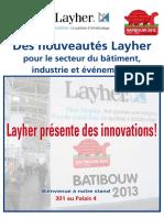 Batibouw Leaflets 2013 FR Zp