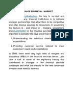 Globalisation of Financial Market