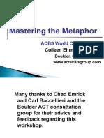 Mastering the Metaphor Ehrnstrom