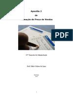 Apostila 2 Formação de Preços de Venda
