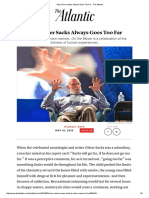 Why Oliver Sacks Always Goes Too Far - The Atlantic