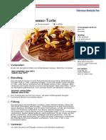 Schoko Espresso Torte