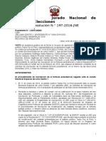 Resolución JNE confirma tachas contra Julio Guzmán
