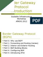 bgp introduction