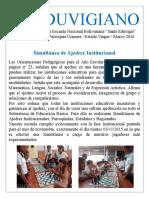 Periódico Mural - EnB Santa Eduvigis - Septiembre a Diciembre 2015