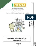 SENAI - Apostila Materiais Construção Mecânica 2011