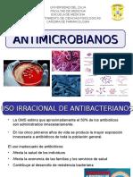 1era Clase - Generalidades de la Terapia Antibacteriana. Dra. De Freitas
