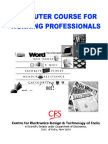 Computer Fundamentals, DOS & Windows Fundamentals, MS Office